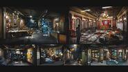 RE2 remake CONCEPT ART - Police Station C