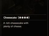 Cheesecake (★★★★)