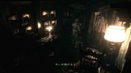 Resident Evil 2002 Dormitory - Room 001 bookshelf Japanese examine 1