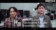 Resident Evil 20th Anniversary Interview Yasuhiro Ampo and Michiteru Okabe