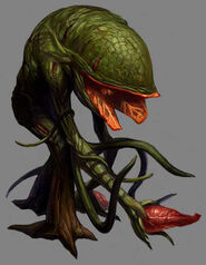Resident Evil Survivor artwork - Plant 43