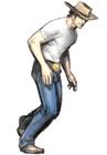 Resident evil outbreak kevin ryman artwork concept art alternate costume cow boy