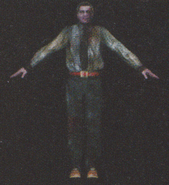 Degeneration Zombie body model 6