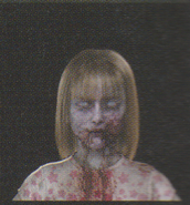 Degeneration Zombie face model 55