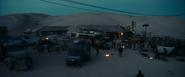 Extinction - Desert Trail Motel at night