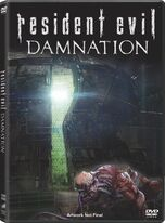 Resident Evil Damnation cover