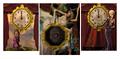 Clock tower storeroom paintings
