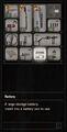 RESIDENT EVIL 7 biohazard Battery inventory
