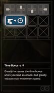 RESIDENT EVIL 7 biohazard Skill Time Bonus a-II