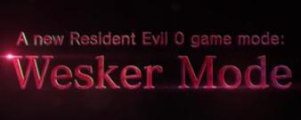 Wesker Mode
