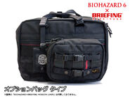 RE.NET Extra Bi6 File Briefing 3-way Holster Bag 7
