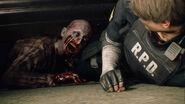 RE2make Leon zombie