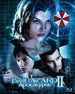 Resident Evil Apocalypse Japanese Blu-ray Deluxe - front