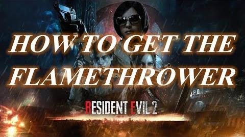 Resident Evil 2 Remake Guides How to get the Flamethrower Queen and King plug