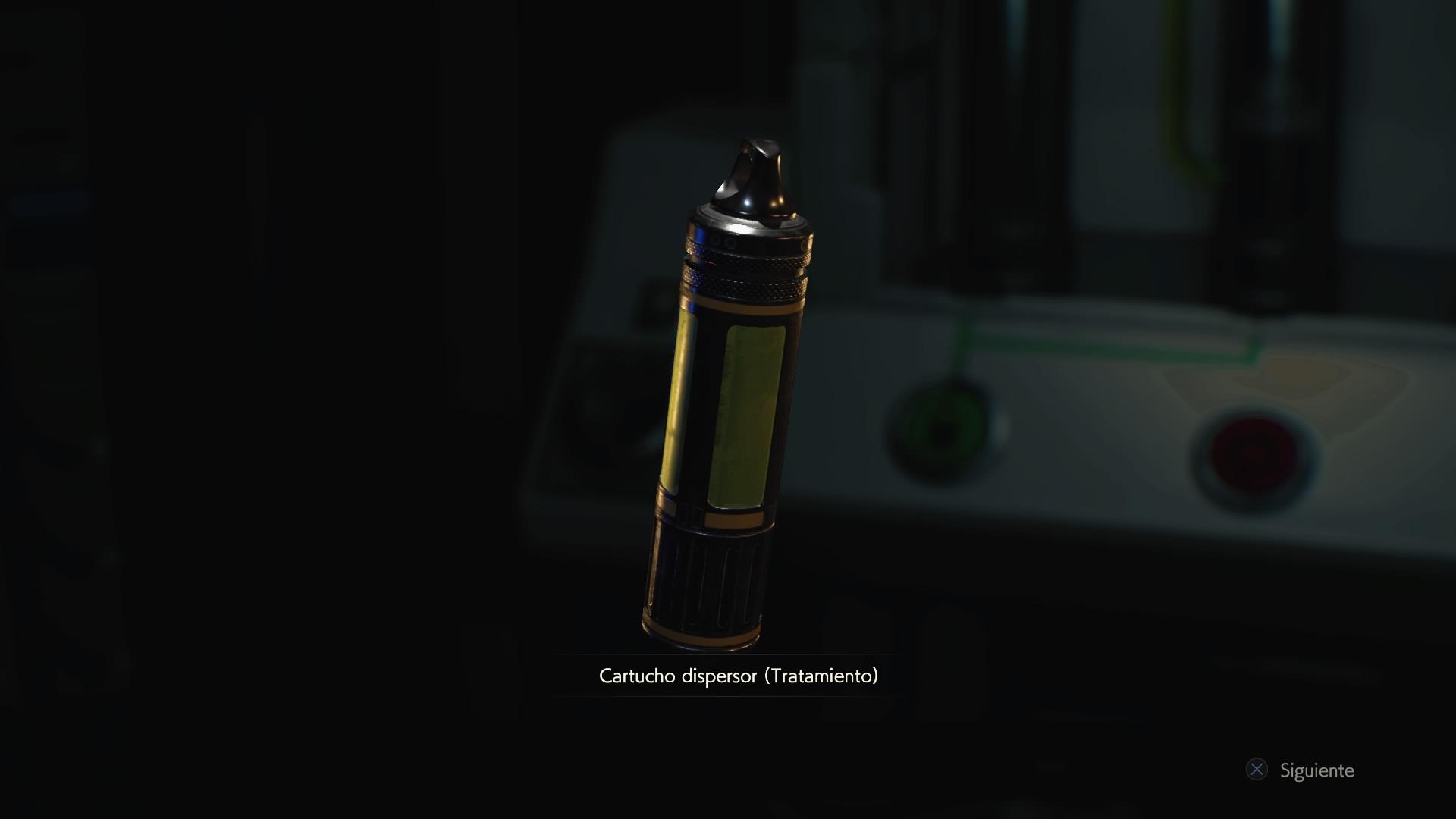 Cartucho dispersor (Tratamiento)