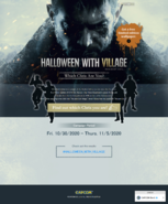 Halloween with Village (Which Chris Are You ver.) site screenshot (1)