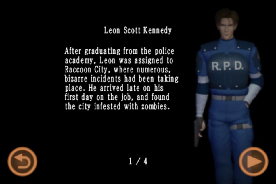 Leon Scott Kennedy (Mobile Edition file)