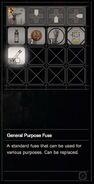 RESIDENT EVIL 7 biohazard General Purpose Fuse inventory