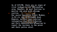 Survivor file - Report on destroyed Raccoon City - page 3