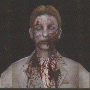 Degeneration Zombie face model 45