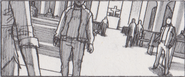 Resident Evil 6 storyboard - Tall Oaks Cathedral 19