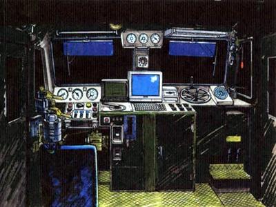 Ecliptic Express/Operator cab