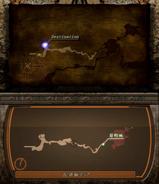 RE4 Trial eng vs jp map screen