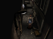 RE3 Sales Office Alleyway 2