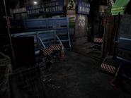Resident Evil 3 background - Uptown - boulevard e2 - R11E04