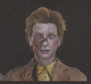 Degeneration Zombie face model 59