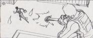 Leon vs. Chris storyboard 23