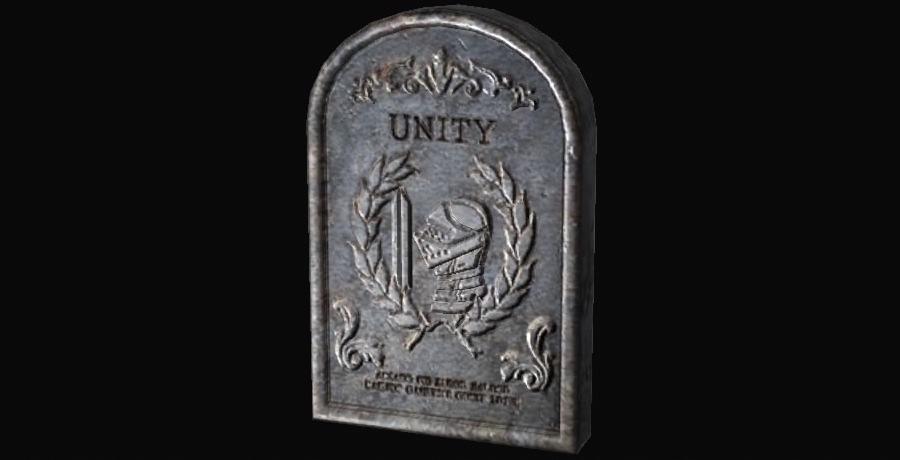 Lápida de unidad