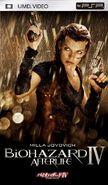 Resident Evil Afterlife Japanese UMD - front