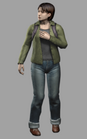 Resident evil outbreak yoko suzuki 3d ingame model