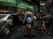 Resident Evil 3 Nemesis screenshot - Uptown - Boulevard gameplay 02