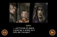 RE4 mobile edition - Rescue Ashley cutscene 5 part 16