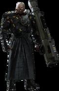 RE3 remake Nemesis key visual