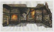 CODE Veronica concept art - Catacombs 3