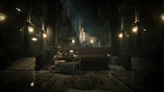 RE2 remake Main Hall