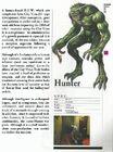 Resident evil hunter creature