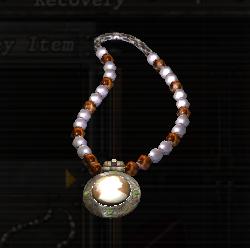 Colgante de perlas