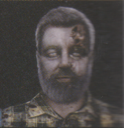 Degeneration Zombie face model 27