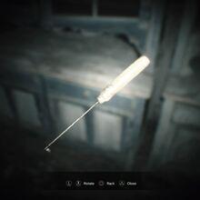 Resident Evil 7 Teaser Beginning Hour Lock Pick examine.jpg
