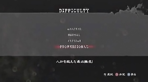 Professional Difficulty