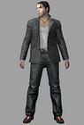 Resident evil outbreak david king artwork 3d model ingame mafia thug alternate costume (2)
