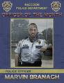 Marvin officer month poster
