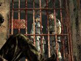 Underground prison ruins