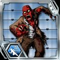 BIOHAZARD Clan Master - BOW card - Crimson Head