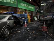 Resident Evil 3 background - Uptown - boulevard o1 - R1030E