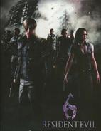 Resident Evil 6 Art Book 33